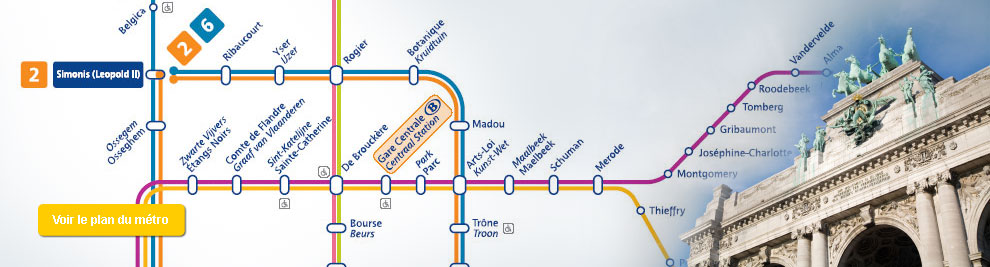 Metro De Bruxelles Plans Metro